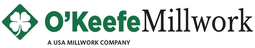 O'Keefe Millwork horizontal logo