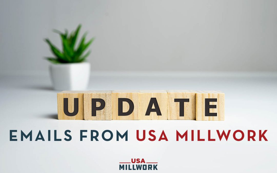 Update to USA Millwork Email Addresses